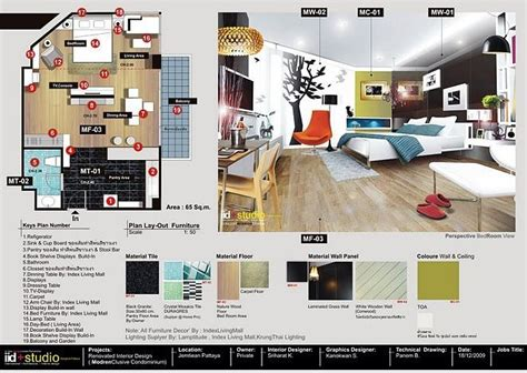 graphic design layout project interior design presentation boards google search