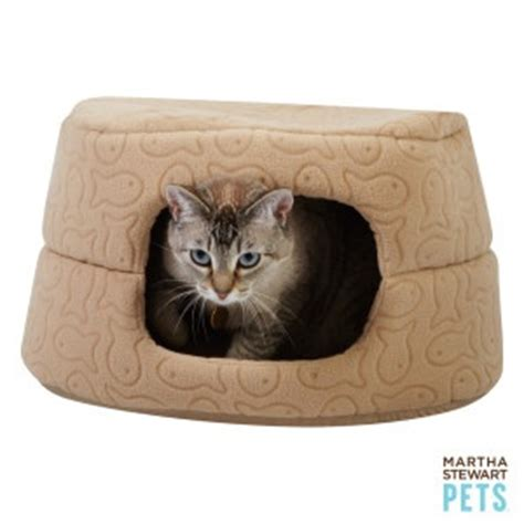 cat beds petsmart martha stewart pets two in one cat bed petsmart all