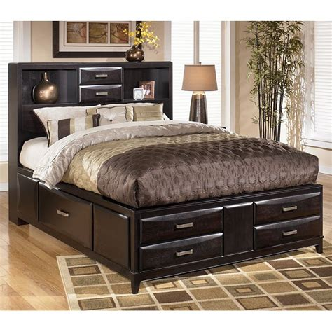 ashley furniture bed kira storage bed signature design by ashley furniture