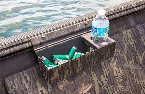 shotgun holder for boat crestliner 1860 retriever jon deluxe bass fishing tiller
