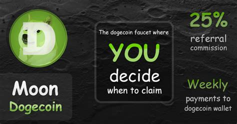 Free Dogecoin Faucet by Moon Dogecoin Free Dogecoin Faucet
