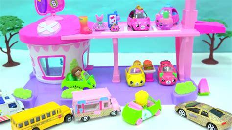 Ready Shopkins Cutie Cars Car cutie cars drive thru diner limited edition car sho