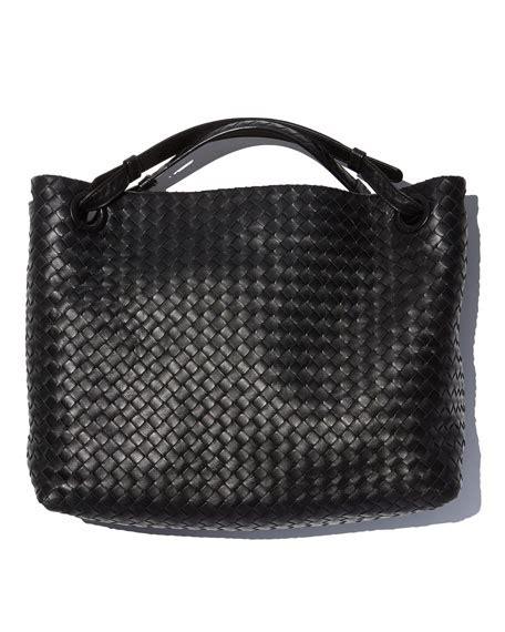 Bottega Veneta Vachette Medium Pouch Black bottega veneta medium intrecciato shoulder bag black