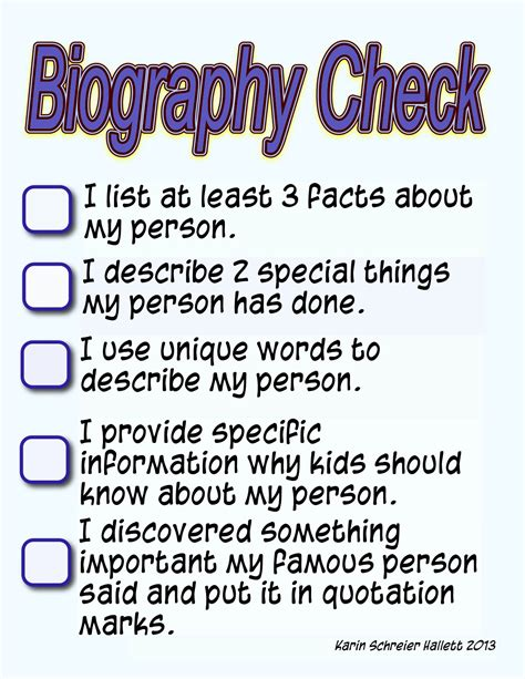 biography books for 4th grade students 4th grade biography book report outline biography book