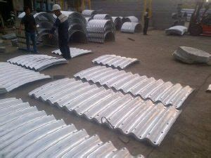 Baja Blocking Guardrail corrugated steel pipe armco multi plate arches pt