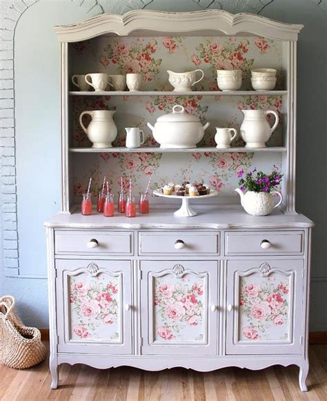 Country China Cabinet Hutch by China Cabinet Country Hutch Sold