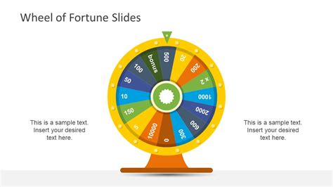 wheel of fortune template wheel of fortune powerpoint template slidemodel