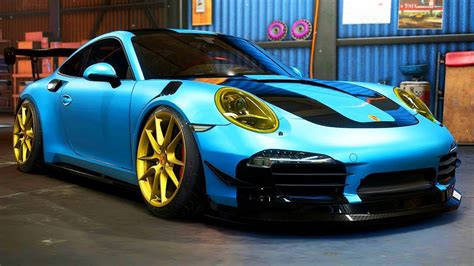 drift porsche 911 porsche 911 drift build need for speed payback part