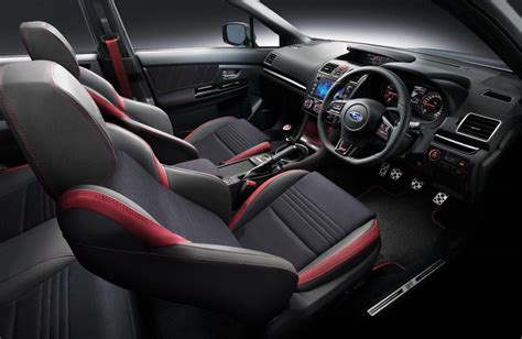 subaru impreza wrx sti interior 2018 subaru wrx sti edition says goodbye to an era