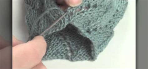 How To Do Mattress Stitch In Knitting by How To Do The Mattress Stitch 171 Knitting Crochet