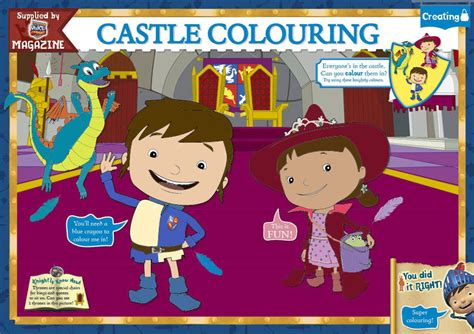 nick jr mike the knight coloring pages mike the knight mike and evie coloring page color by