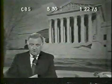 50 years ago today walter cronkite signed on tvnewser 1973 cbs evening news with walter cronkite 1 22 73 youtube