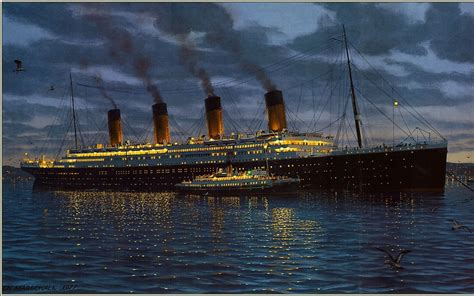 titanic boat download small boat moored to the titanic wallpapers and images