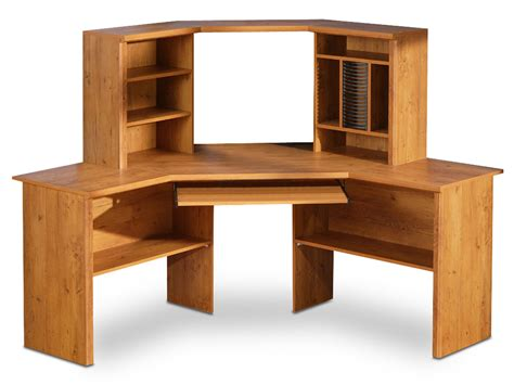 Pine Corner Desks South Shore Prairie Country Pine Corner Desk 7232780 Homelement