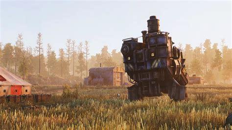 wallpaper iron harvest screenshot  games