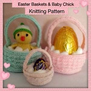 knitting pattern easter chick creme egg easter baskets baby chick knitting pattern easter egg