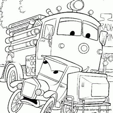 coloring pages cars 2 characters disney characters pictures to print car 2 luigi and guido