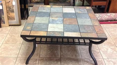 Slate Top Patio Table Slate Top Metal Patio Table Approximately 40x20 Quot