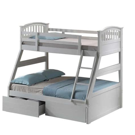 triple sleeper bunk beds white triple sleeper bunk bed with storage drawers next