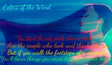 colors of the wind song day 25 favorite lyrics colors of the wind from pocahontas