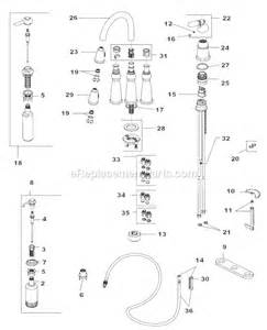 Delta Kitchen Faucet Parts List Delta Faucet 16955 Sssd Dst Parts List And Diagram Ereplacementparts