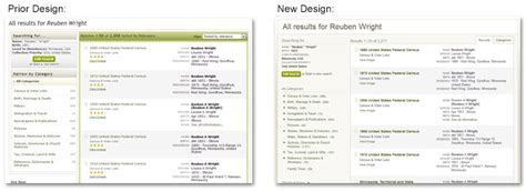 search design new search results page on ancestry com ancestry blog
