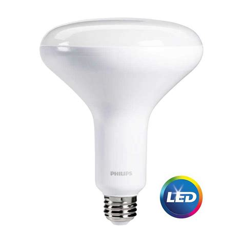 Lu Philips Led 8 Watt philips 65 watt equivalent soft white cri90 br30 dimmable