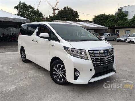 2015 Toyota Alphard 2 5 G At toyota alphard 2015 g s c package 2 5 in selangor