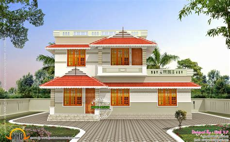 kerala style low cost storied home kerala home