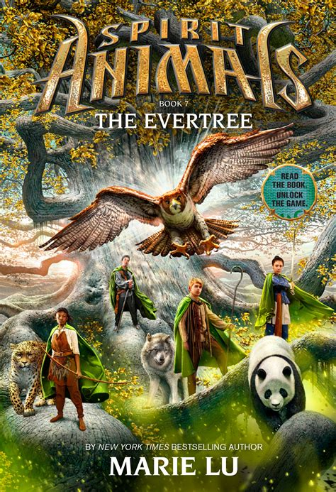 Spirit Book the evertree spirit animals 7 lu cover