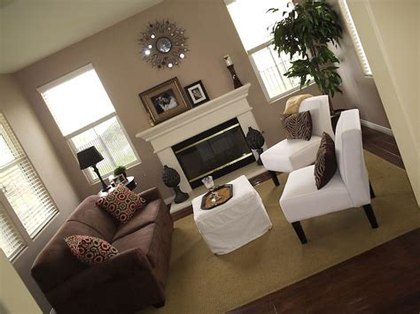 brown walls in living room taupe walls contemporary living room