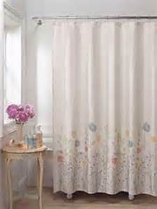 Fabric Shower Curtains With Valance Flower Fields Bathroom Fabric Shower Curtains Cool Shower Curtains Fabric Shower Curtains