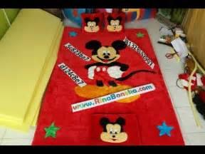 Karpet Karakter Mickey harga karpet karakter ukuran 200x150 motif mickey mouse