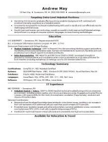 Sle Resume Objectives For Entry Level by Resume Objective Sles For Entry Level Resumes Entry Level Accounting Sle Resume Objectives