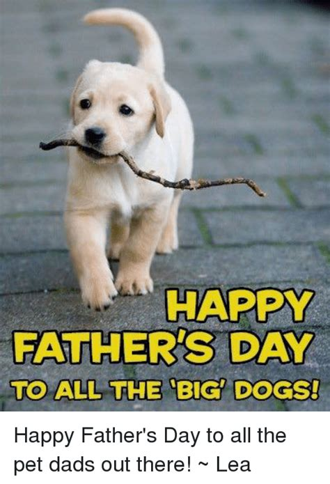 happy fathers day to all the dads out there happy fathers day to all the big dogs happy s day