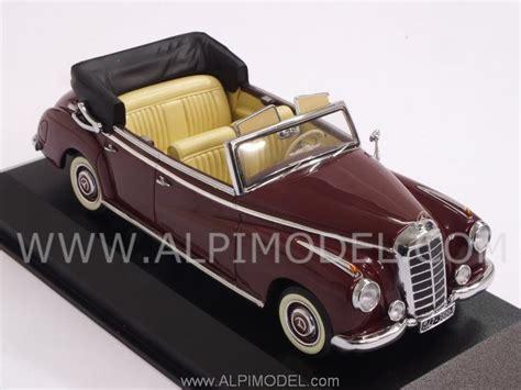 Mercedes 300 Convertible 1952 Middle 1 43 Minichs 43703213 minichs 437032131 mercedes 300 cabriolet w186 1952 middle 1 43