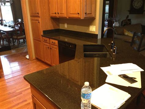 Granite America   Black Pearl Kitchen