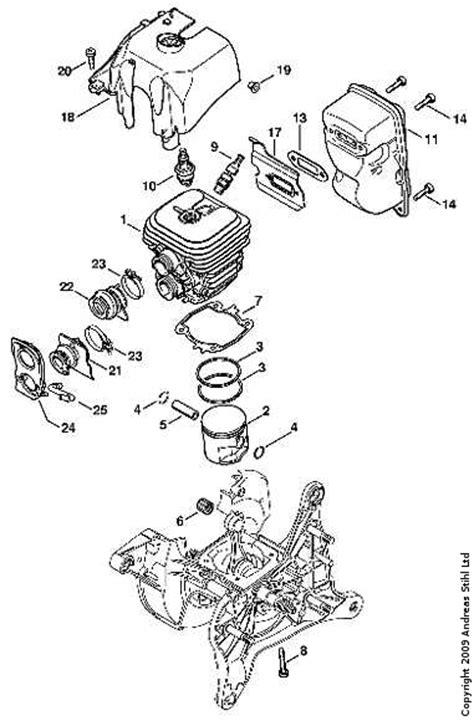 stihl 029 parts diagram 028 av stihl chainsaw parts diagram search results