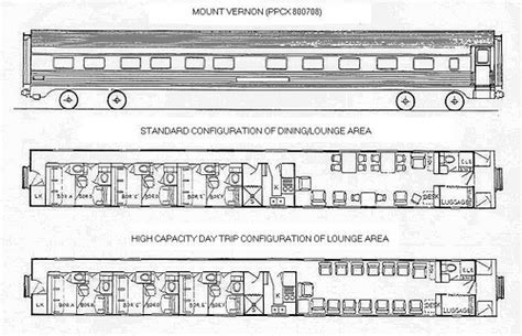 train floor plan train chartering private rail car mount vernon plan flickr