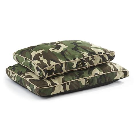 camouflage dog bed u s army camo dog bed 178955 kennels beds at