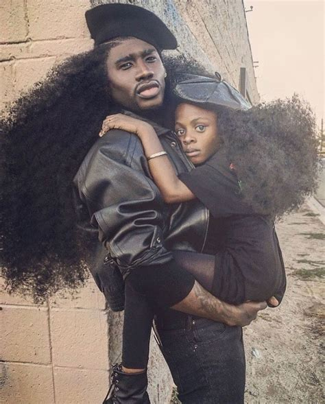 Father & Daughter Duo Takes Over The Internet With Their Natural Hairdos   Bored Panda