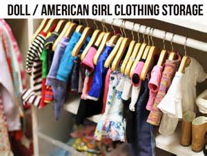 easy doll clothing storage rack