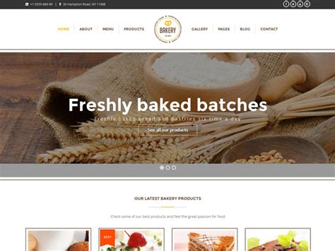 blogger themes bakery 35 fabulous wordpress themes for bakeries 2018