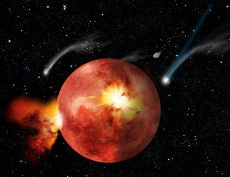 bombardamento a tappeto bombardamento a tappeto nel sistema solare media inaf