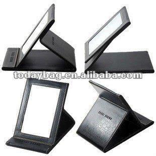 office desk mirror leather office desk mirror foldable ybs hzj012 buy