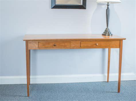 shaker furniture of maine 187 cherry shaker style writing table