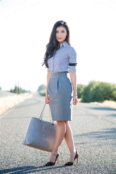 different to wear with pencil skirts for chic look