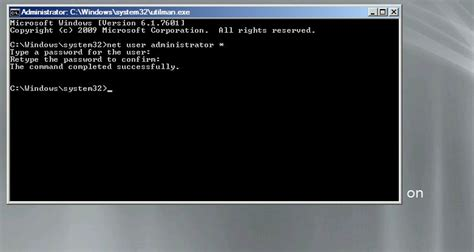 windows 2008 r2 password reset how to reset domain admin password on windows server 2008 r2