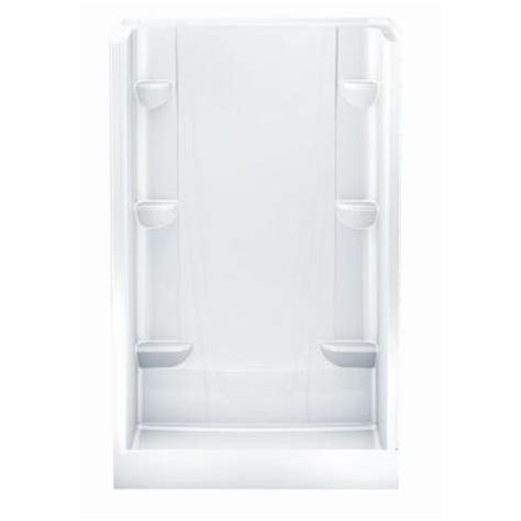 Home Depot Shower Stall by Aquatic A2 34 In X 48 In X 76 In Shower Stall In White