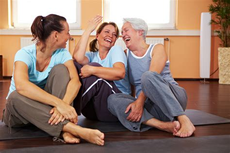 middleage woman fun getting people to exercise what do we know about what
